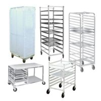 Bun Pan / Sheet Pan Racks and Rack Covers