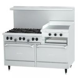 Commercial Gas Restaurant Ranges With Griddles Restaurant