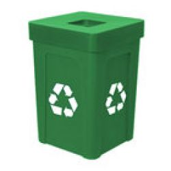 Commercial Recycle Trash Cans / Containers