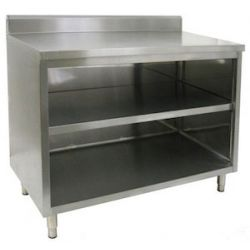 Enclosed Base Commercial Work Tables - Without Doors