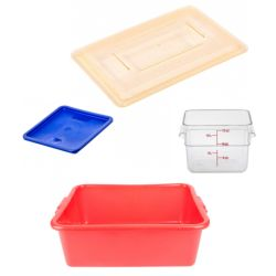 Food Storage Containers and Lids