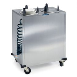 Mobile Heated Plate and Dish Dispensers
