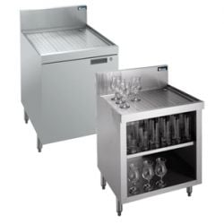 Underbar Cabinets with Drainboard Tops