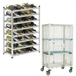 Wine Shelving and Security Shelving