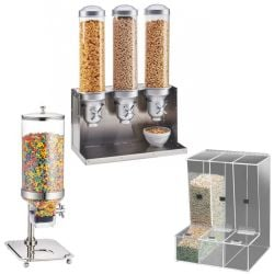 Dry Cereal Dispensers and Dry Food Dispensers