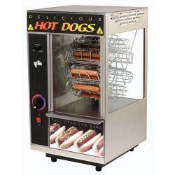 Hot Dog Merchandisers & Hot Dog Hawkers