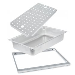 Stainless Steel Food Pan Accessories