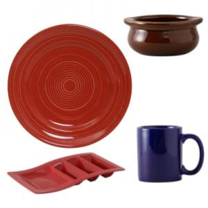 Colorful China Dinnerware