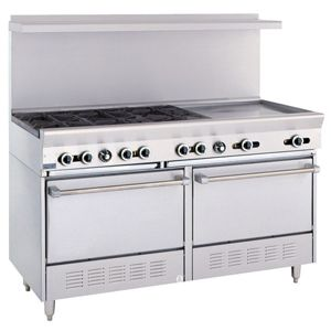 Commercial Gas Restaurant Ranges