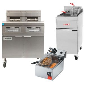 Electric Commercial Deep Fryers