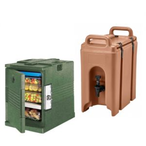 Insulated Food Carriers and Beverage Dispensers