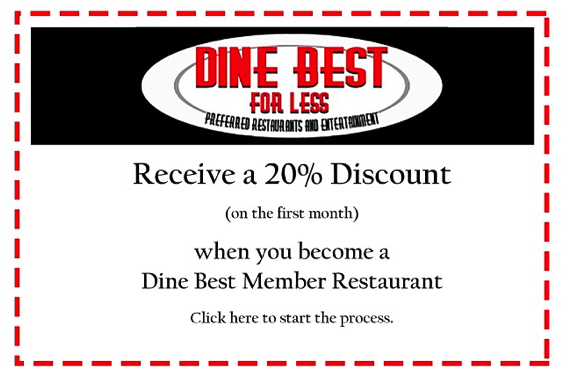 Dine Best For Less Coupon