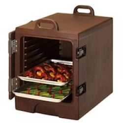 Front-Loading Insulated and Heated Food Pan Carriers