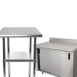 Commercial Work Tables and Stations