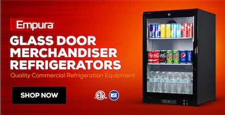 Empura Glass Door Merchandiser Refrigerators